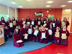 Congratulations to our TY students